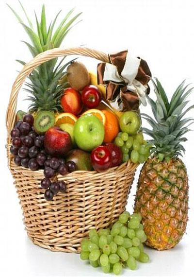 12 KG FRESH FRUITS GIFT BASKET